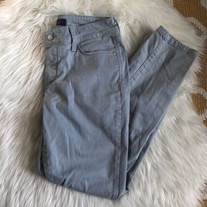 gray not your daughters jeans NYDJ ankle  size 2